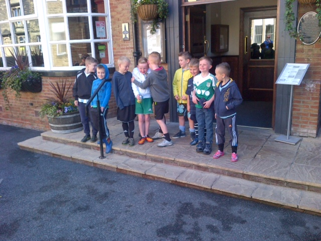 Pudsey Juniors Under 7 Sponsored Walk